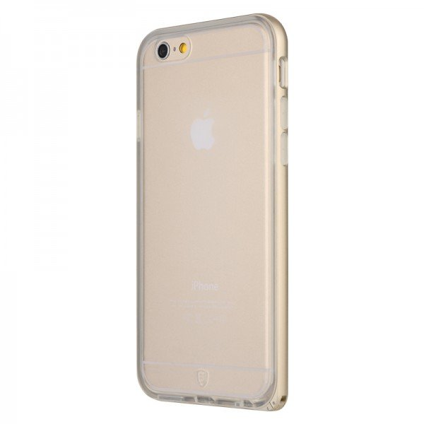 Чехол Baseus Fusion золотой для iPhone 6 Plus