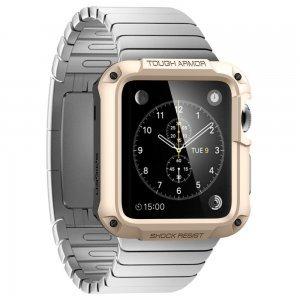 Чехол-накладка Spigen Tough Armor золотистый для Apple Watch 42mm