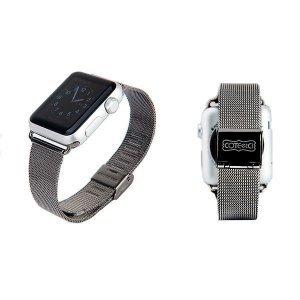 Ремешок Coteetci W2 черный для Apple Watch 42/44 мм