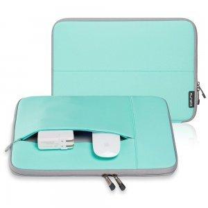"""Чехол-карман для Apple MacBook Pro 15""""/Pro Retina 15"""" - Runetz Neoprene Sleeve голубой + серый"""