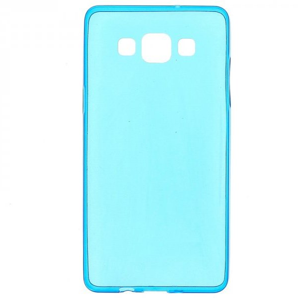 Чехол-накладка для Samsung Galaxy A5 - 0,3мм голубой