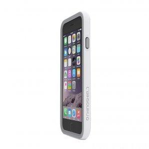 Чехол-бампер для Apple iPhone 6 Plus - Evolution Labs RhinoShield Crash Guard белый