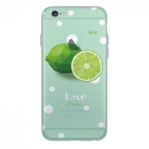 Чехол с рисунком WK Lime зелёный для iPhone 6/6S