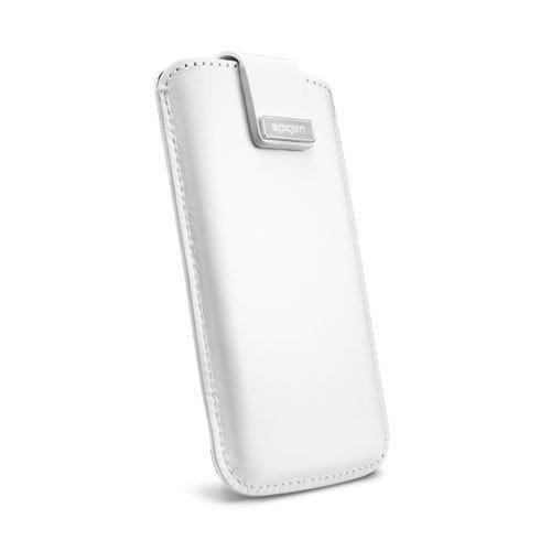Чехол-карман для Apple iPhone 5/5S - SGP Leather Pouch Crumena белый