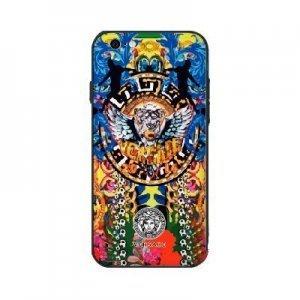 Чехол с рисунком WK Versace разноцветный для iPhone 6/6S