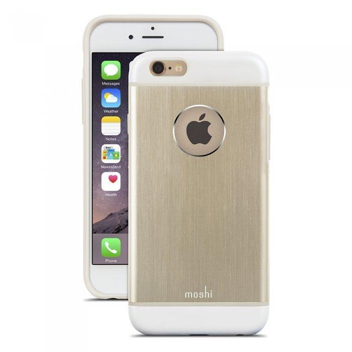 Защитный чехол Moshi iGlaze Armour золотой для iPhone 6/6S