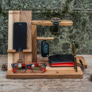 Подставка для iPad, iPhone - EcoWalNut Man Organizer