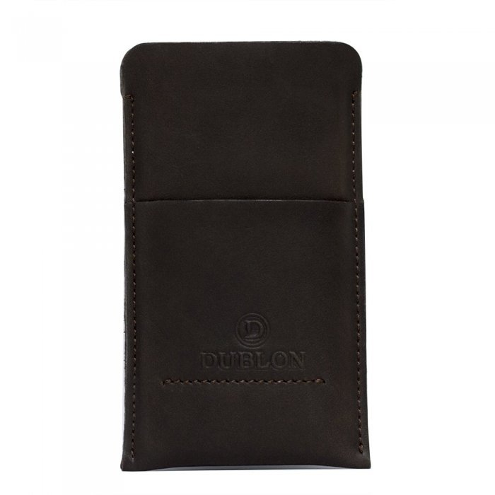 Чехол-карман Dublon Leatherworks Britain-2 коричневый для iPhone 6 Plus/6S Plus