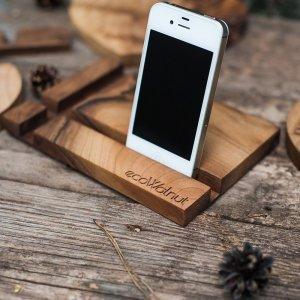 Подставка для iPhone - EcoWalNut Прямоугольник