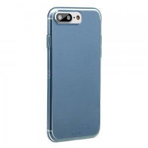 Полупрозрачный чехол Baseus Simple синий для iPhone 8 Plus/7 Plus