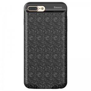 Чехол-аккумулятор Baseus Plaid Backpack 7300mAh черный для iPhone 7 Plus