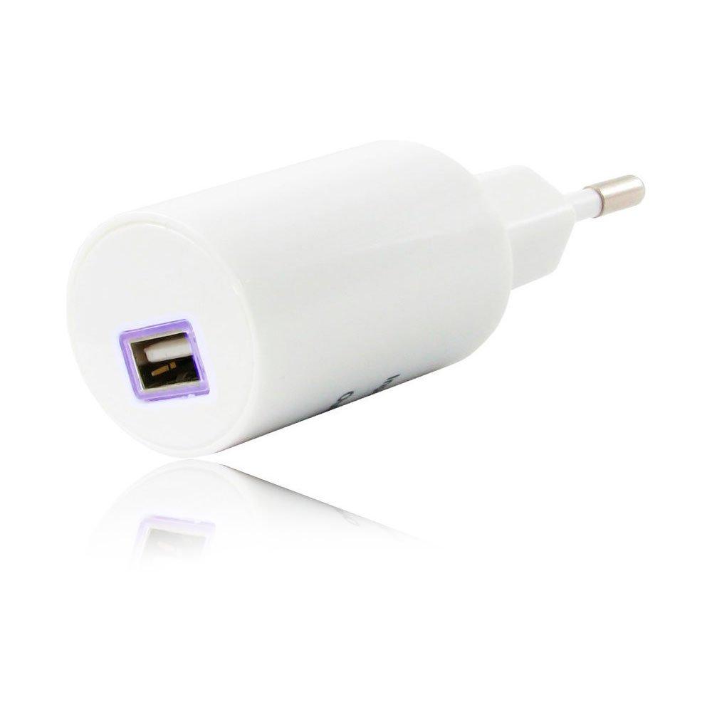 Сетевое зарядное устройство Gelius 1.2A белое