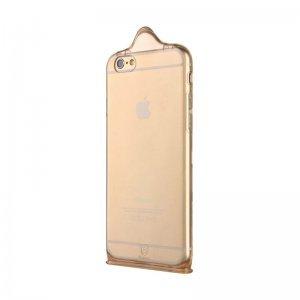 Чехол Baseus icondom золотой для iPhone 6/6S