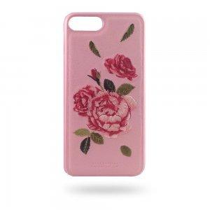 Кожаный чехол Polo Hawaii розовый для iPhone 8 Plus/7 Plus