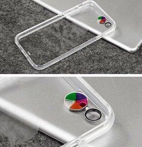 Светящийся чехол Plusme Fashion Lightning Flash Череп, прозрачный для iPhone 6/6S
