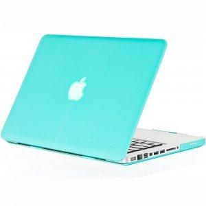 "Чехол-накладка для Apple MacBook Pro 15"" - Kuzy Rubberized Hard Case голубой (Teal)"