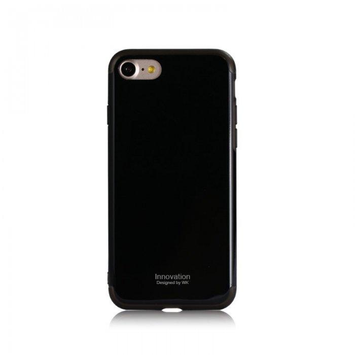 Пластиковый чехол WK Roxy черный для iPhone 8 Plus/7 Plus