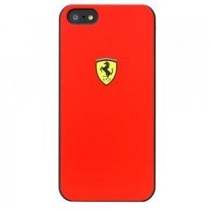 Чехол-накладка для Apple iPhone 5S/5 - CG Mobile Ferrari Scuderia красный