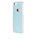 Чехол-накладка для Apple iPhone 5S/5 - Moshi iGlaze голубой