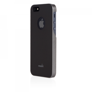 Чехол-накладка для Apple iPhone 5S/5 - Moshi iGlaze чёрный