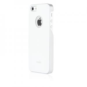 Чехол-накладка для Apple iPhone 5S/5 - Moshi iGlaze белый