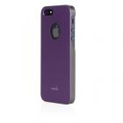 Чехол-накладка для Apple iPhone 5S/5 - Moshi iGlaze фиолетовый