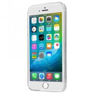 Силиконовый чехол Baseus Simple прозрачный для iPhone 5/5S/SE