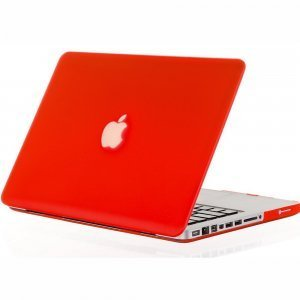 "Чехол-накладка для Apple MacBook Pro 13"" - Kuzy Rubberized Hard Case красный"