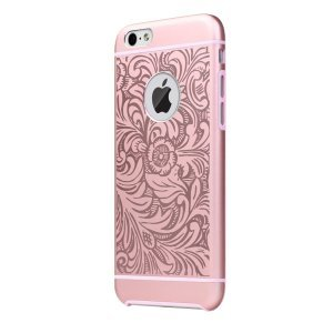 Чехол с рисунком iBacks Essence Cameo Venezia розовый для iPhone 6/6S