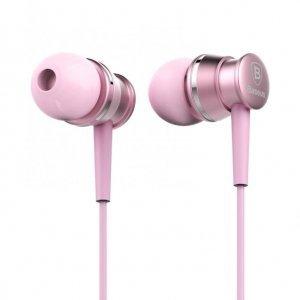 Наушники Baseus Lark розовые