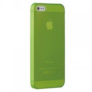 Чехол-накладка для Apple iPhone 5S/5 - Ozaki O!coat 0.3 Jelly зелёный