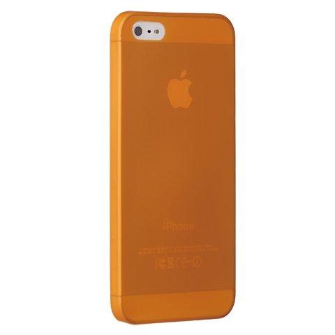 Полупрозрачный чехол Ozaki O!coat 0.3 Jelly оранжевый для Apple iPhone 5/5S/SE