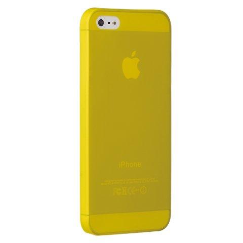 Чехол-накладка для Apple iPhone 5S/5 - Ozaki O!coat 0.3 Jelly желтый