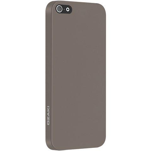 Ультратонкий чехол Ozaki O!coat 0.3 Solid коричневый для iPhone 5/5S/SE