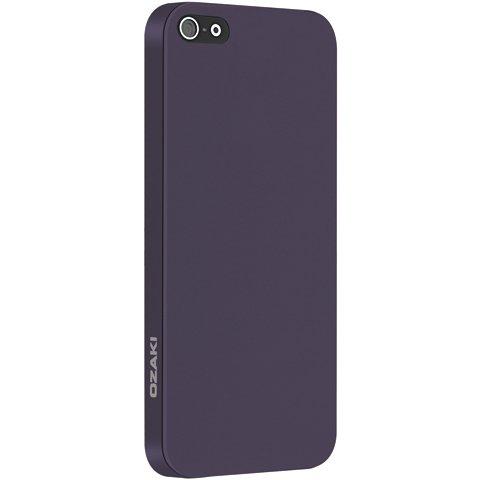 Ультратонкий чехол Ozaki O!coat 0.3 Solid фиолетовый для iPhone 5/5S/SE