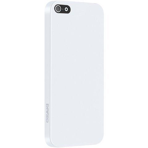 Силиконовый чехол Ozaki O!coat 0.3 Solid белый для iPhone 5/5S/SE