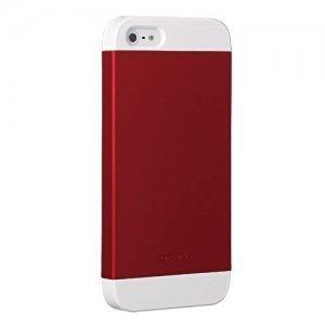 Пластиковый чехол Ozaki O!coat Wardrobe+ красный для iPhone 5/5S/SE