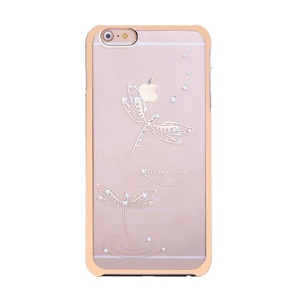 Чехол-накладка для Apple iPhone 6/6S - Kingxbar Classic Jade Dragonfly
