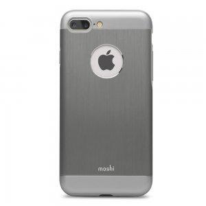 Защитный чехол Moshi iGlaze Armour серый для iPhone 8 Plus/7 Plus