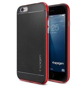Чехол-накладка для Apple iPhone 6 - SGP Neo Hybrid красный