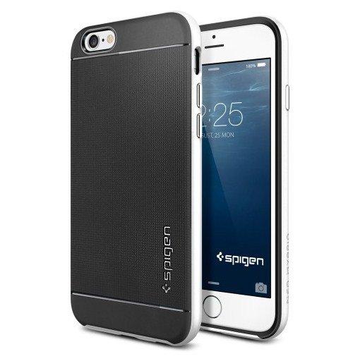 Чехол-накладка для Apple iPhone 6 - SGP Neo Hybrid белый