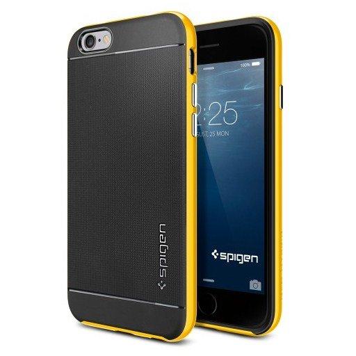 Чехол-накладка для Apple iPhone 6 - SGP Neo Hybrid желтый