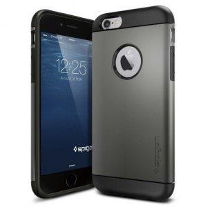 Чехол-накладка для Apple iPhone 6 - SGP Slim Armor серый