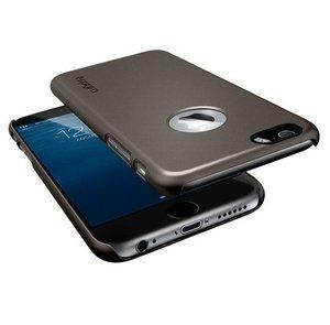 Чехол-накладка для Apple iPhone 6 - SGP Thin Fit A серый