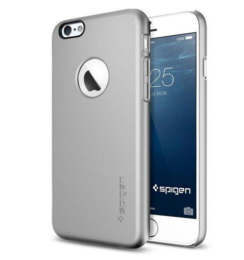 Чехол-накладка для Apple iPhone 6 - SGP Thin Fit A серебристый