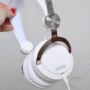 Наушники WeSC Bassoon DJ Pro белые