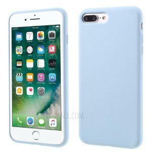 Силиконовый чехол Coteetci Silicone синий для iPhone 8 Plus/7 Plus