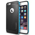Чехол-накладка для iPhone 6 Plus/6S Plus - Spigen Case Neo Hybrid Metal голубой