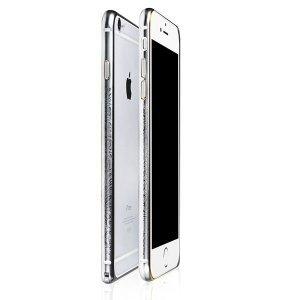 Бампер с рисунком iBacks Arc-shaped Venezia серый для iPhone 6/6S