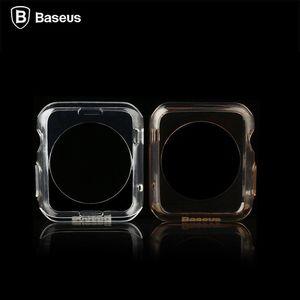 Чехол Baseus Simple золотой для Apple Watch 38мм